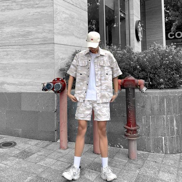 Lee Min Ho chuyên diện quần short ngắn cũn tôn chân dài cực phẩm, không ít giai hẳn sẽ muốn học theo đấy - Ảnh 11.