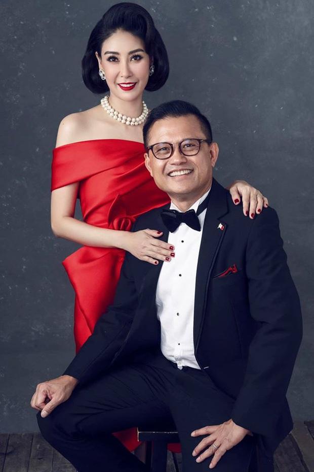 Bộ ảnh kỷ niệm 13 năm cưới của Hà Kiều Anh: Sang trọng chuẩn gia đình đá quý, công chúa út chiếm spotlight vì quá dễ thương! - Ảnh 5.