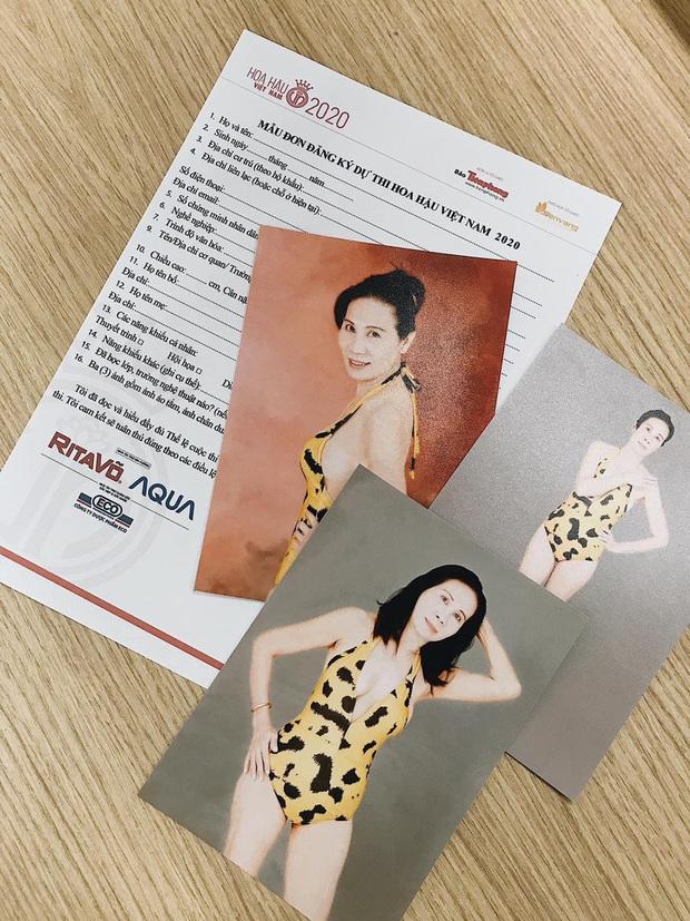 Thí sinh U60 đăng ký thi Hoa hậu Việt Nam 2020: Tự tin và đam mê có đủ, được khen hết lời nhưng đáng tiếc không hợp lệ - Ảnh 2.