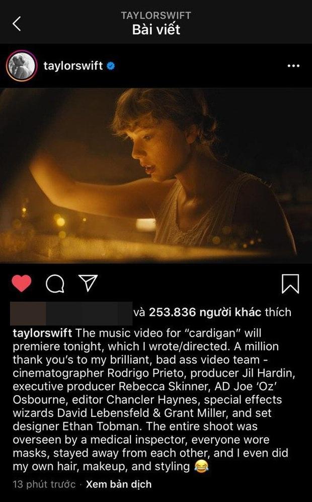 SỐC: Taylor Swift đánh úp một album 16 bài hát hoàn toàn mới, MV cũng sẽ ra mắt ngay trong ngày mai! - Ảnh 6.