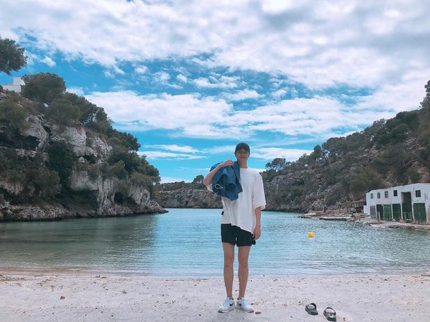 Lee Min Ho chuyên diện quần short ngắn cũn tôn chân dài cực phẩm, không ít giai hẳn sẽ muốn học theo đấy - Ảnh 2.