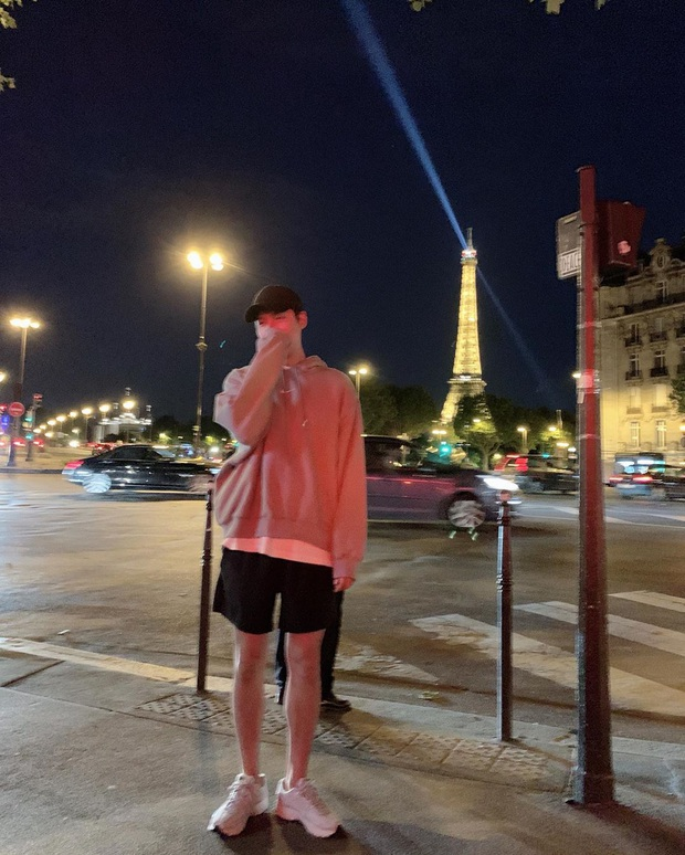 Lee Min Ho chuyên diện quần short ngắn cũn tôn chân dài cực phẩm, không ít giai hẳn sẽ muốn học theo đấy - Ảnh 4.