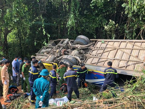 Khởi tố tài xế lái xe khách lao xuống vực làm 6 người tử vong - Ảnh 1.