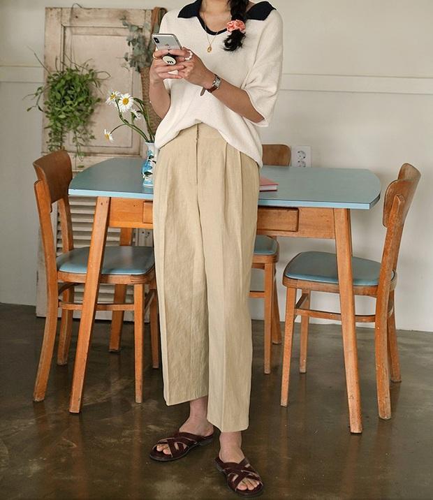 4 kiểu quần dài giúp nâng cấp vẻ xịn mịn cho set đồ, chị em có diện toàn items giá rẻ thì trông vẫn sang - Ảnh 13.