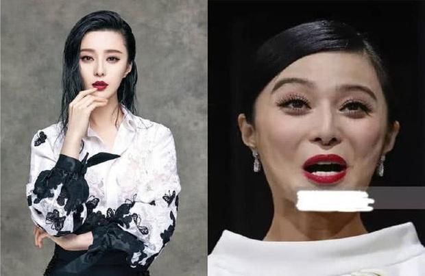 Choáng trước nhan sắc thật của mỹ nhân Hoa ngữ qua hình chưa được chỉnh sửa: Angela Baby hay Địch Lệ Nhiệt Ba đều rất khác - Ảnh 4.