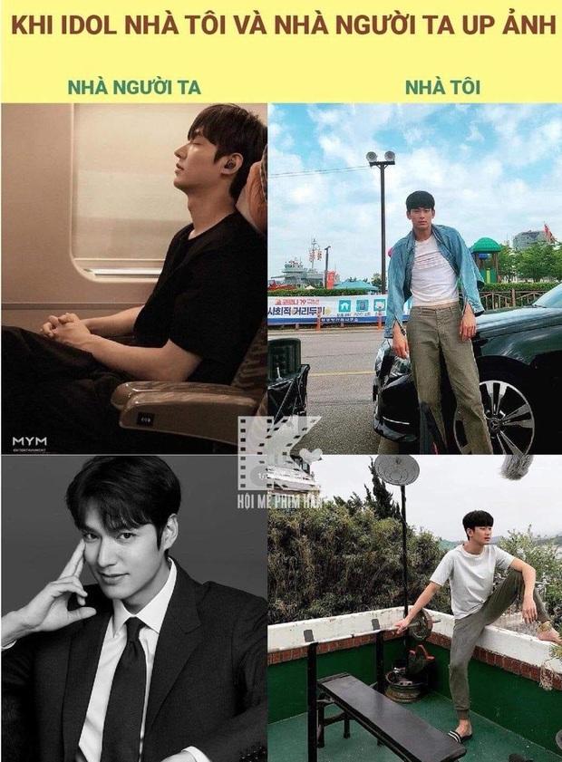 Idol nhà người ta - nhà tôi cùng khoe ảnh: Lee Min Ho sang chảnh, Kim Soo Hyun tự dìm, nhưng sao độ hot chẳng kém? - Ảnh 2.