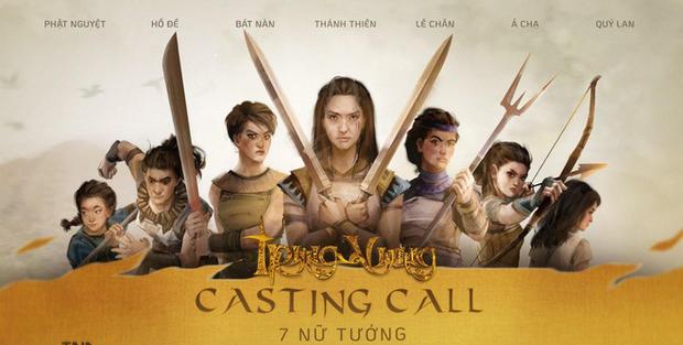 Ekip Trưng Vương đăng đàn lùng 7 nữ tướng, vậy nữ chính có khả năng về tay Trương Ngọc Ánh? - Ảnh 1.