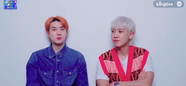 Phỏng vấn đặc biệt EXO-SC: Sehun cằn nhằn làm việc với EXO quá ồn ào, Chanyeol thổ lộ muốn thắng hạng nhất trên các show âm nhạc! - Ảnh 2.