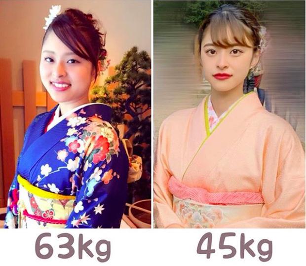 Gái xinh người Nhật giảm liền 18kg trong 6 tháng với 4 nguyên tắc ai cũng có thể học theo - Ảnh 1.