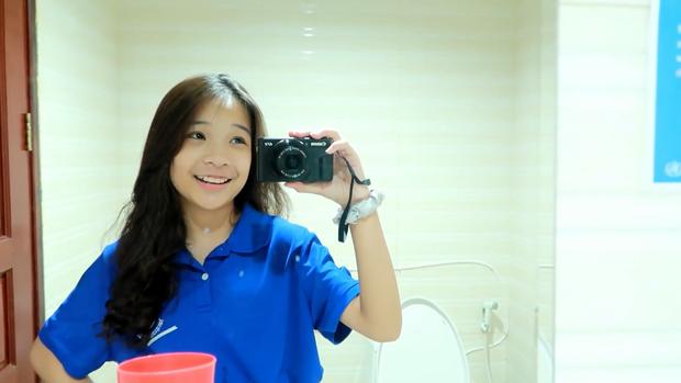 Hội 15-16 tuổi có tiếng trên Youtube, Instagram diện đồng phục đi học trông như thế nào? - Ảnh 11.