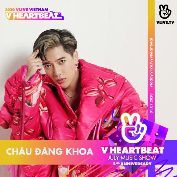 Minh Hằng, Chi Dân, Châu Đăng Khoa, K-ICM cùng gà cưng và hàng loạt nghệ sĩ đổ bộ show kỷ niệm V Heartbeat Live tròn 2 năm - Ảnh 9.