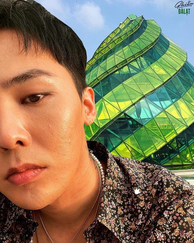 Thương G-Dragon lâu không được đi du lịch, fan hết lòng ghép ảnh anh đi khắp Việt Nam - Ảnh 11.