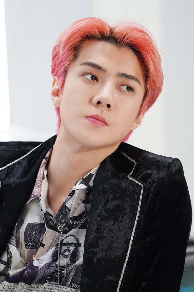 Sehun đẹp trai nhất nhì EXO nhưng cứ đi show lại tự dìm hàng, lần này là thành... bà thím tóc vàng - Ảnh 3.