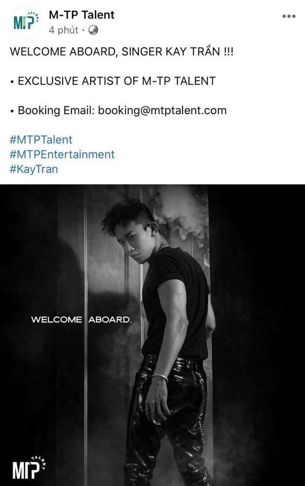 Không chỉ có mối duyên với Sơn Tùng từ 7 năm trước, Kay Trần còn ấn follow theo trend chỉ riêng mình anh để tung hint về M-TP Talent này! - Ảnh 1.