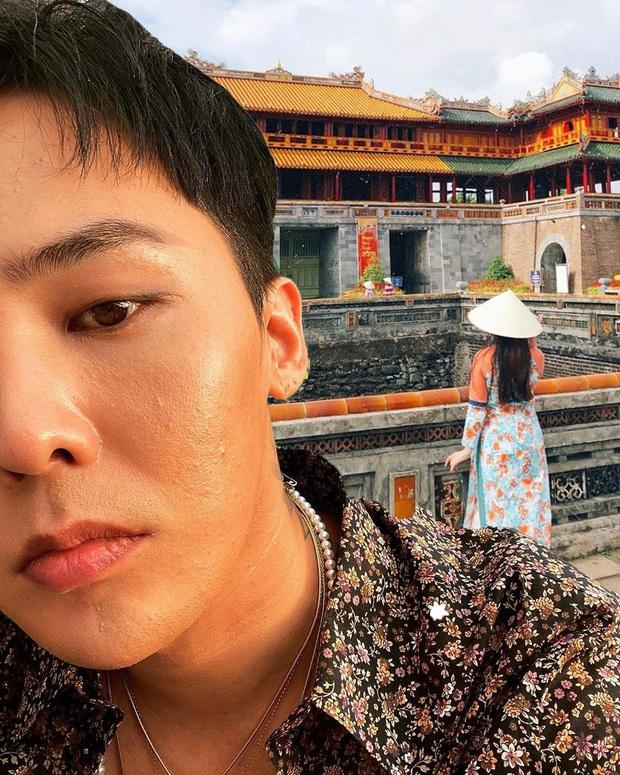 Thương G-Dragon lâu không được đi du lịch, fan hết lòng ghép ảnh anh đi khắp Việt Nam - Ảnh 7.