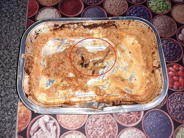 Ăn gần hết khay thịt gà nướng mới phát hiện nguyên con chuột chết bên trong, người phụ nữ kinh hãi đến mức nôn suốt 12 tiếng - Ảnh 1.