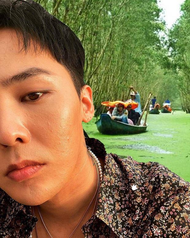 Thương G-Dragon lâu không được đi du lịch, fan hết lòng ghép ảnh anh đi khắp Việt Nam - Ảnh 15.