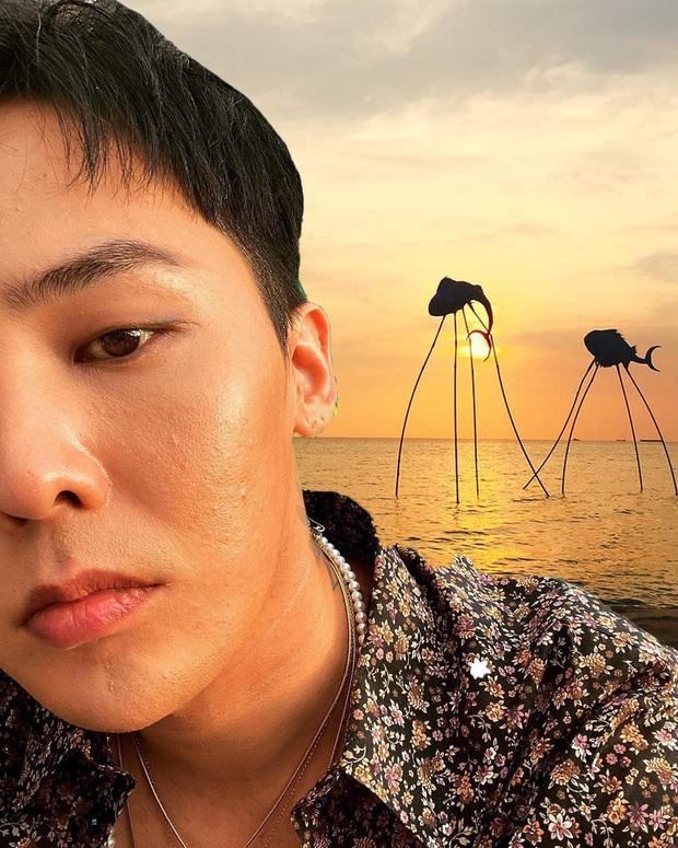 Thương G-Dragon lâu không được đi du lịch, fan hết lòng ghép ảnh anh đi khắp Việt Nam - Ảnh 17.