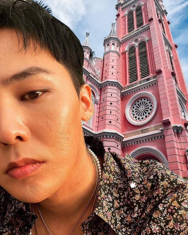 Thương G-Dragon lâu không được đi du lịch, fan hết lòng ghép ảnh anh đi khắp Việt Nam - Ảnh 13.