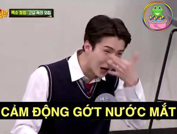 Sehun đẹp trai nhất nhì EXO nhưng cứ đi show lại tự dìm hàng, lần này là thành... bà thím tóc vàng - Ảnh 8.