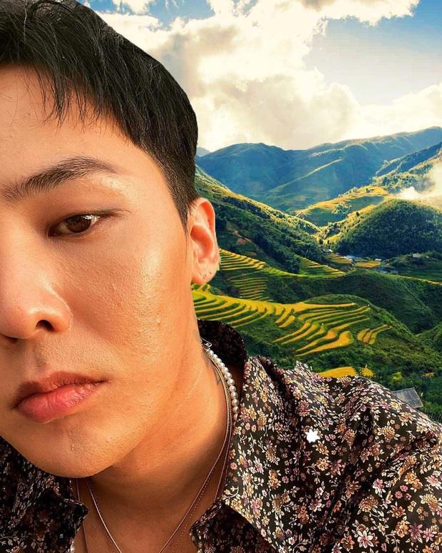 Thương G-Dragon lâu không được đi du lịch, fan hết lòng ghép ảnh anh đi khắp Việt Nam - Ảnh 3.