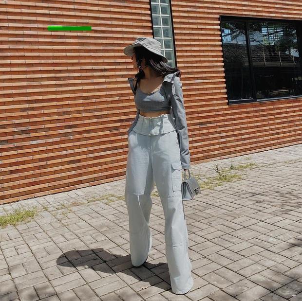 Châu Bùi khuyên chị em: Càng là mét rưỡi thì càng nên diện bét nhè quần ống rộng cạp cao - Ảnh 1.