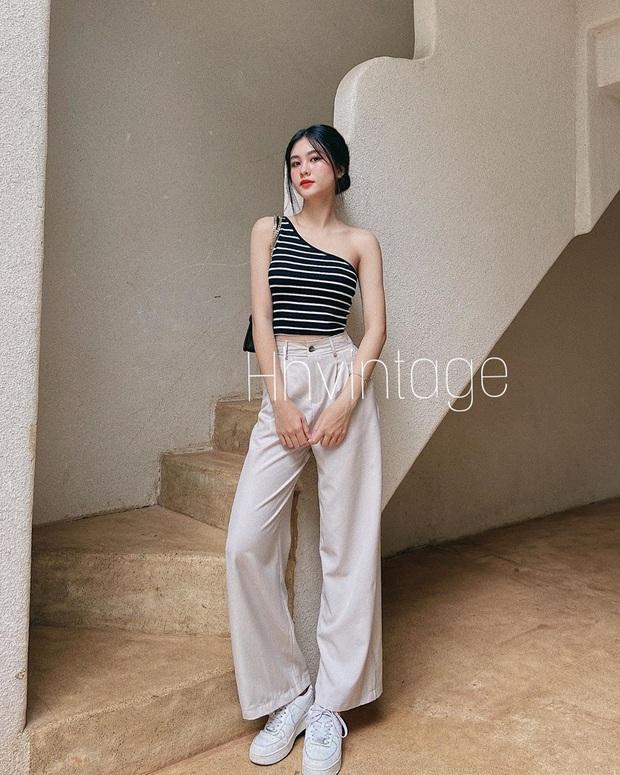 Châu Bùi khuyên chị em: Càng là mét rưỡi thì càng nên diện bét nhè quần ống rộng cạp cao - Ảnh 10.