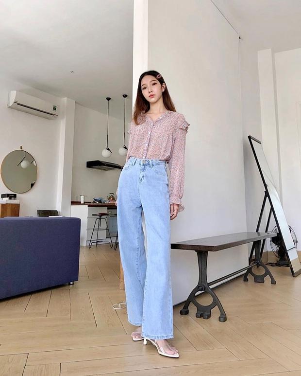 Châu Bùi khuyên chị em: Càng là mét rưỡi thì càng nên diện bét nhè quần ống rộng cạp cao - Ảnh 8.