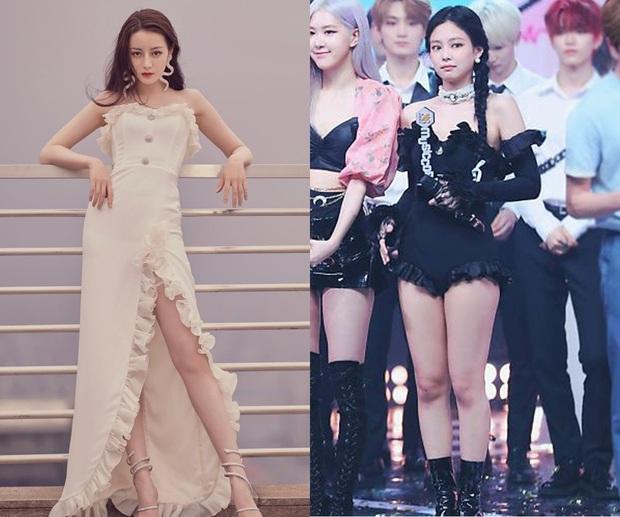 Cuộc chiến giữa Jennie – Địch Lệ Nhiệt Ba khi diện váy áo na ná: Người đẹp thoát tục, người sexy khó cưỡng  - Ảnh 3.