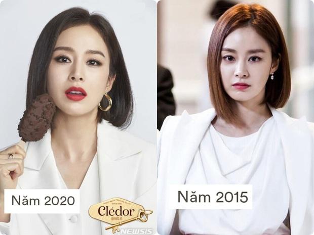 Ở tuổi 40, Kim Tae Hee tái hiện kiểu tóc ngắn từng gây sốt 5 năm trước, nhan sắc nữ tổng tài khiến fan rụng rời - Ảnh 4.
