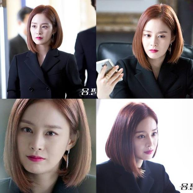 Ở tuổi 40, Kim Tae Hee tái hiện kiểu tóc ngắn từng gây sốt 5 năm trước, nhan sắc nữ tổng tài khiến fan rụng rời - Ảnh 6.