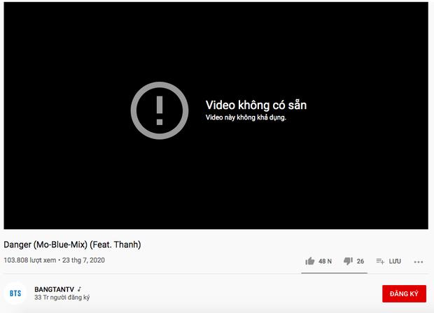 Big Hit bất ngờ đăng tải video sản phẩm kết hợp giữa BTS và Thanh Bùi từ 6 năm trước nhưng khi truy cập lại... không khả dụng? - Ảnh 1.