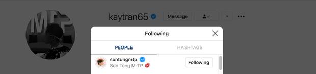 Không chỉ có mối duyên với Sơn Tùng từ 7 năm trước, Kay Trần còn ấn follow theo trend chỉ riêng mình anh để tung hint về M-TP Talent này! - Ảnh 3.