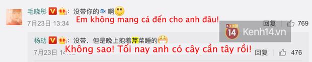 Vừa ly hôn ở 30 Chưa Phải Là Hết, Dương Lặc đã vội thả thính Mao Hiểu Đồng cực mặn trên MXH đây này! - Ảnh 2.
