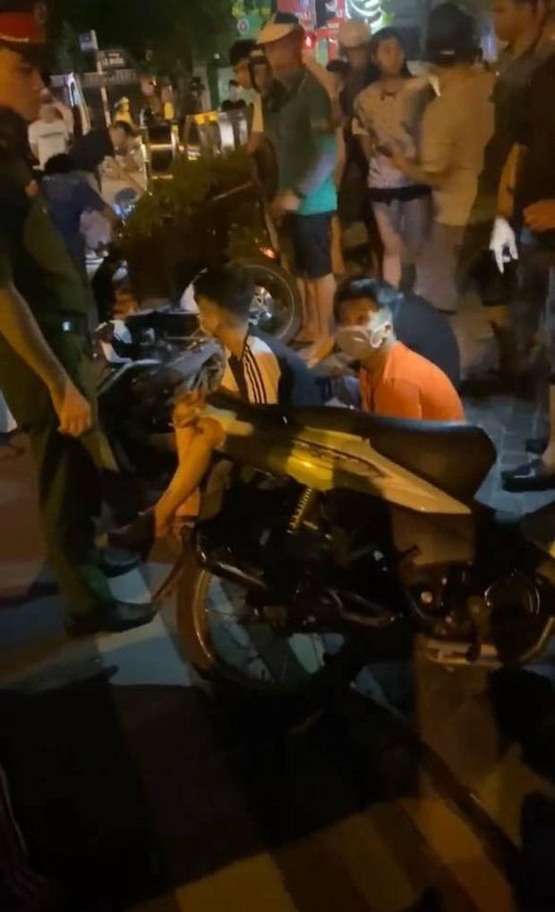 Hà Nội: Bị nhóm quái xế tông trúng lúc rạng sáng, nam thanh niên tử vong, tài xế beBike chấn thương nặng - Ảnh 2.
