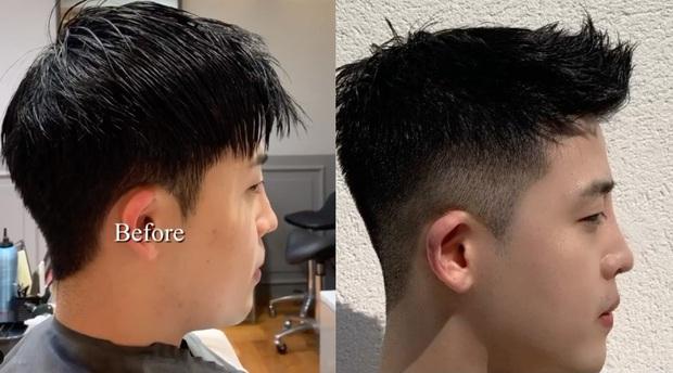 """Những pha """"biến hình"""" cắt tóc nam chứng minh hội con trai tóc tai cứ chuẩn là bảnh hết nút  - Ảnh 7."""