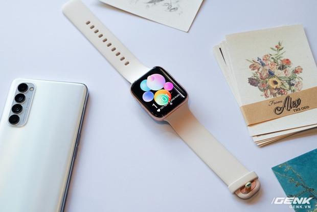 Trên tay OPPO Watch Sơn Tùng M-TP đeo trong MV Có Chắc Yêu Là Đây: Rất đẹp, hoàn thiện tốt không thua Apple Watch, nhìn nghiêng thấy khác biệt - Ảnh 2.
