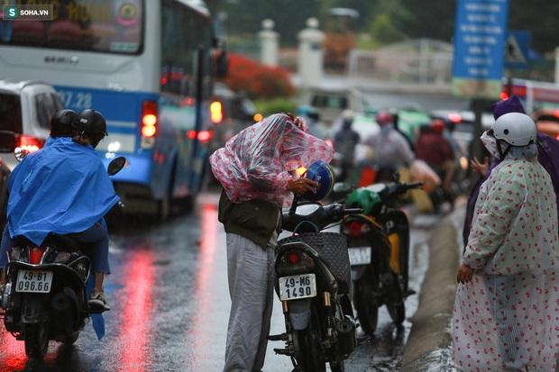 Cửa ngõ Đà Lạt ùn tắc kéo dài, hàng trăm ôtô nhúc nhích từng chút trong cơn mưa chiều - Ảnh 2.