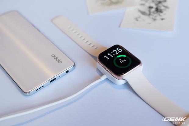 Trên tay OPPO Watch Sơn Tùng M-TP đeo trong MV Có Chắc Yêu Là Đây: Rất đẹp, hoàn thiện tốt không thua Apple Watch, nhìn nghiêng thấy khác biệt - Ảnh 10.