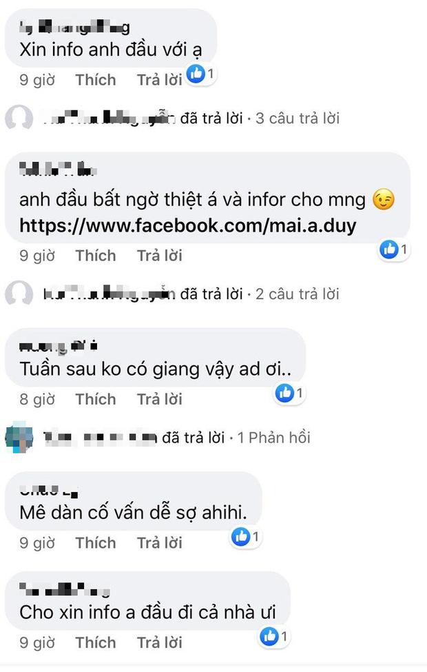 Netizen nô nức xin Facebook của cực phẩm màu Tím khiến ai cũng ngỡ trai thẳng ở Người ấy là ai - Ảnh 5.