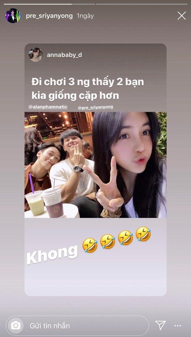 3 cực phẩm tập 1 Người ấy là ai tụ tập, Trang Anna ghen ra mặt khi thấy bạn trai tình cảm với Alan Phạm - Ảnh 2.