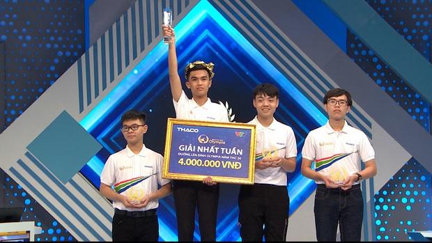 Nam sinh Hà Nội xuất sắc phá vỡ thêm 1 kỷ lục ở chương trình Đường lên đỉnh Olympia - Ảnh 3.