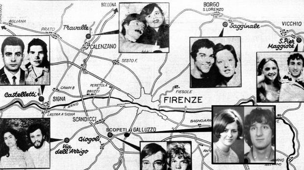 Quái nhân Florence: Gã đồ tể chuyên nhắm vào các cặp đôi đang hưởng thụ tuần trăng mật, 16 người bị sát hại cực kỳ dã man - Ảnh 2.