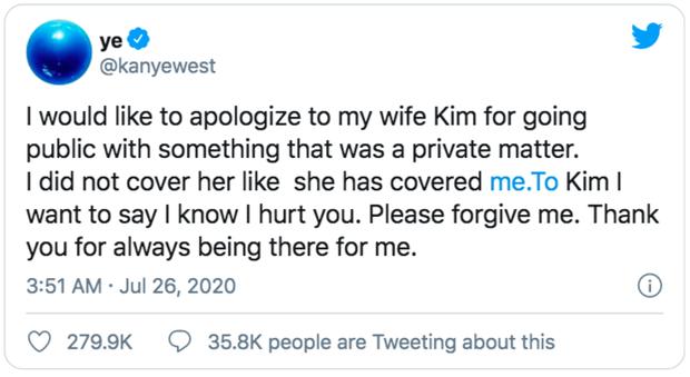 Biến căng: Kanye West tố Kim Kardashian ngoại tình, nhưng quay ngoắt 180 độ sau một nốt nhạc? - Ảnh 3.
