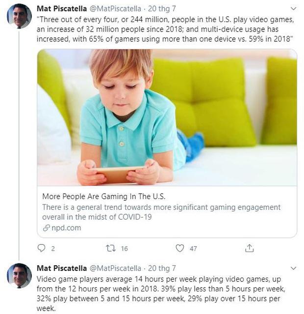 Hơn 3/4 dân số Mỹ chọn ở nhà chơi game trong thời kỳ dịch bệnh Covid-19 - Ảnh 1.