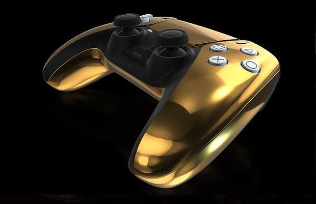 Lóa mắt với phiên bản PS5 mạ vàng 24K  - Ảnh 2.