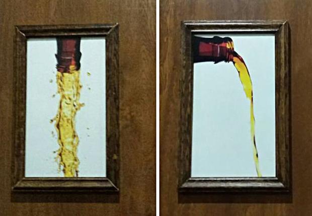 Những tấm biển chỉ dẫn nhà vệ sinh hài hước và độc đáo khiến ai cũng phải công nhận sức sáng tạo của con người thật không có giới hạn - Ảnh 2.