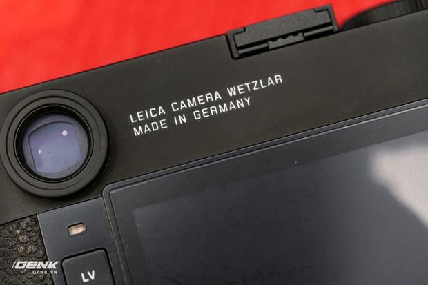 Đập hộp máy ảnh Leica M10-R: Vẫn là nét lạnh lùng hấp dẫn, cảm biến 40 MP, giá 219 triệu đồng - Ảnh 16.