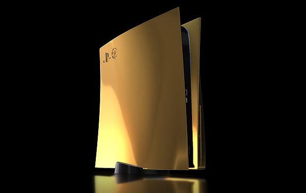 Lóa mắt với phiên bản PS5 mạ vàng 24K  - Ảnh 4.