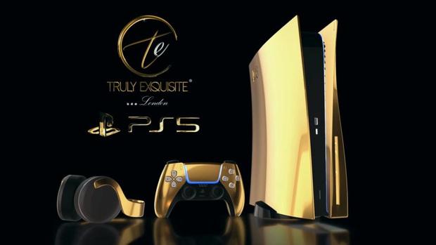 Lóa mắt với phiên bản PS5 mạ vàng 24K  - Ảnh 5.